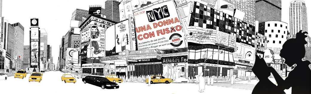 Donna con fuso. Il blog: trasferirsi in usa, vivere a new york e pensare italiano