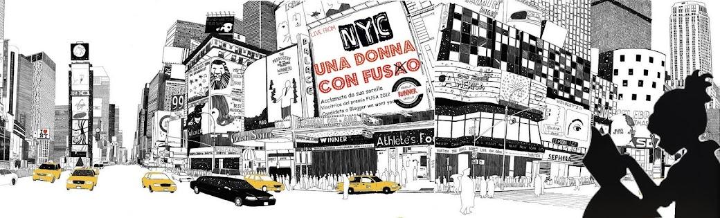 Donna con fuso. Il blog: trasferirsi in usa, vivere a new york e pensare italiano
