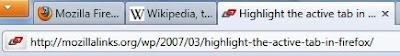 Firefox 4 trikovi, širji aktivni tab u Windows 7