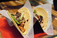 Chicken Tacos with Pickled Poblano Strips   Healthy Chicken Recipe Tacos Pickled Poblano Strips