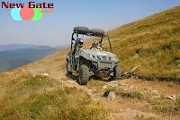 Raid Quad Roumanie