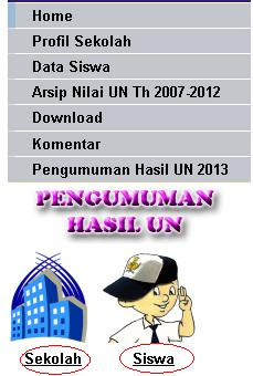 Simdik.info pengumuman UN SMP Online
