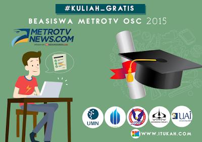 Beasiswa MetroTV OSC