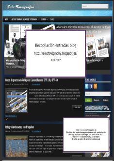 Recopilación de artículos del blog