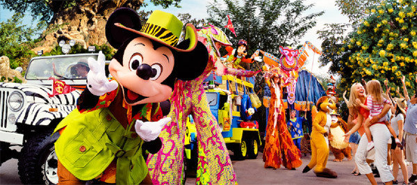 Desfile do Animal Kingdom Disney Orlando