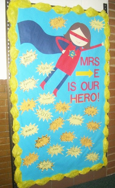 The Teacher Wife My SUPER Bulletin Board
