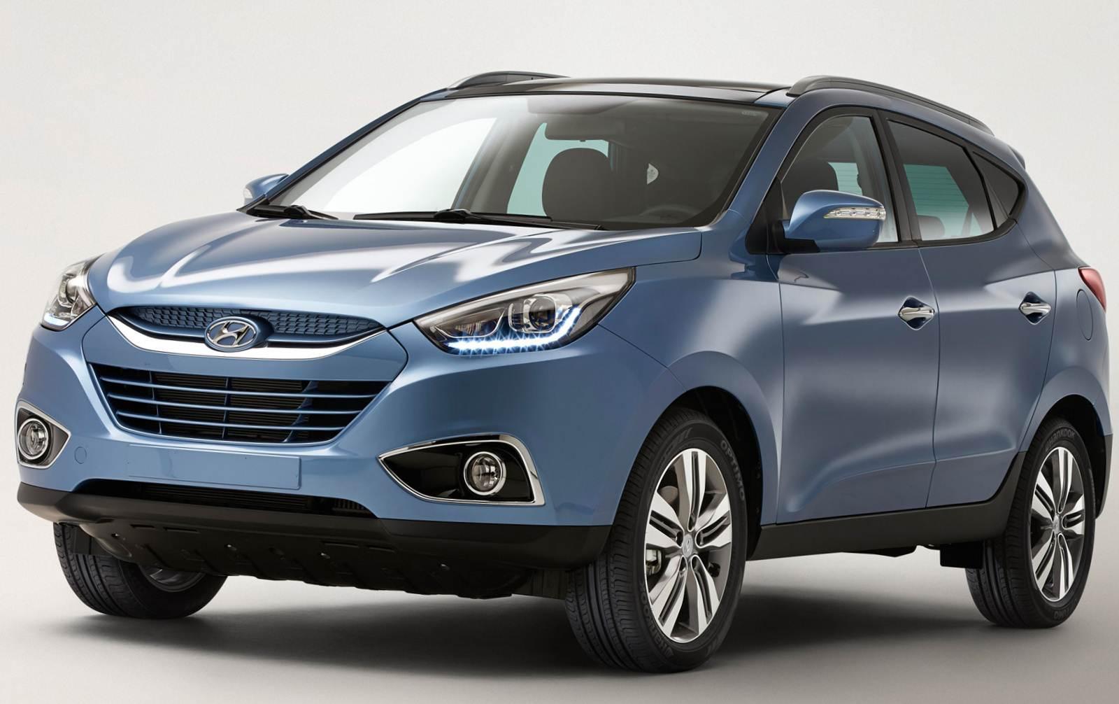 Novo Hyundai ix35 2014 será apresentado em Genebra