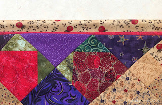 Plans for Bonnie Hunter's  Easy Street Quilt Border and Binding