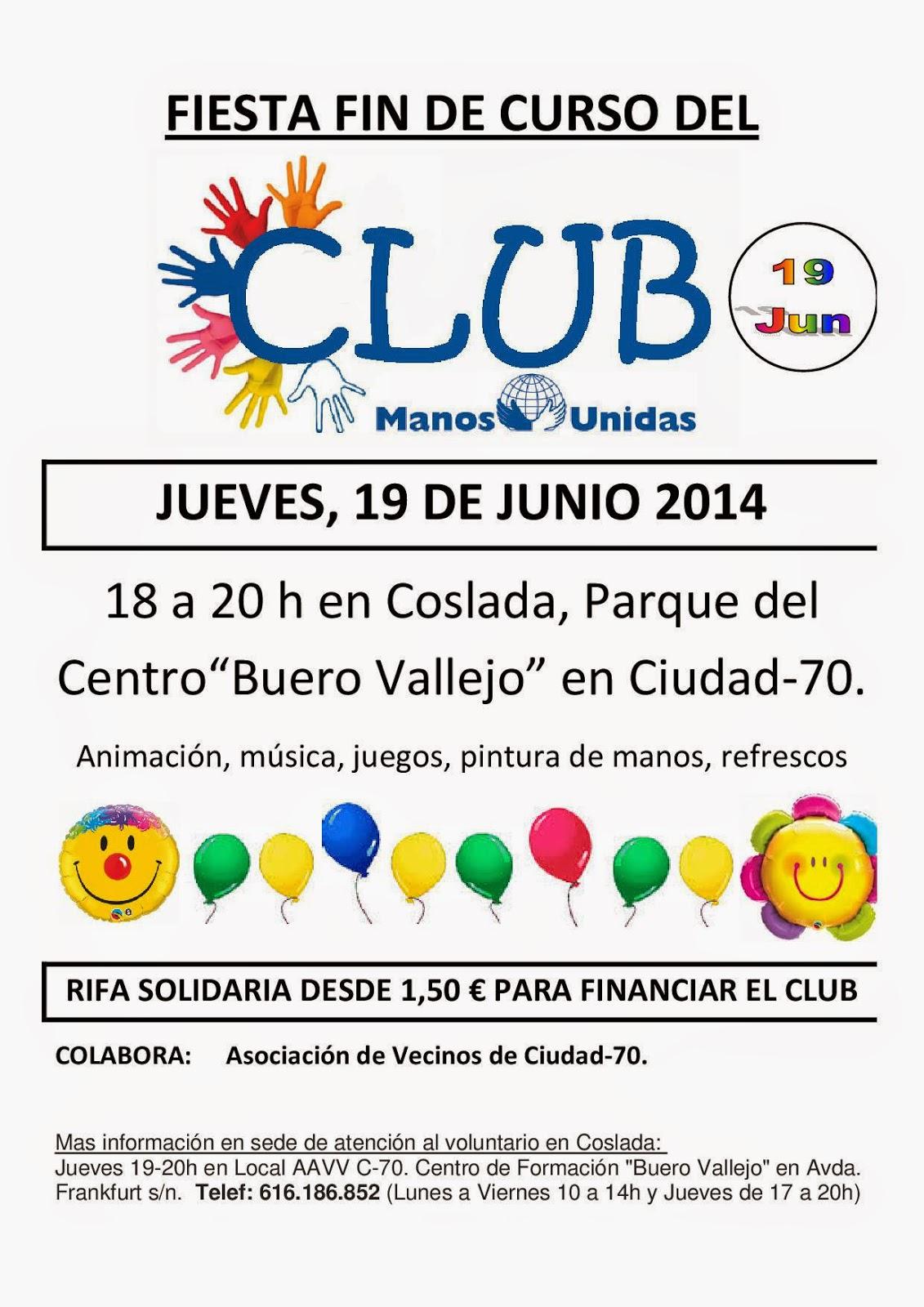 MANOS UNIDAS COSLADA - SAN FERNANDO (MADRID): septiembre 2014