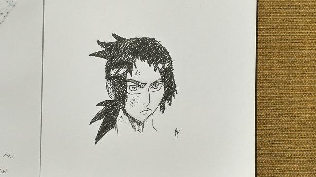 Belajar Menggambar Wajah Manga
