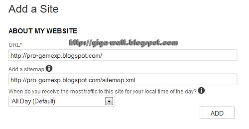 Cara Daftar Blog Ke Webmaster Bing-GigaWatt