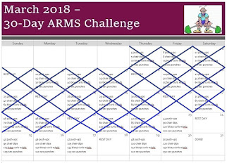 March 2018 Arms Challenge