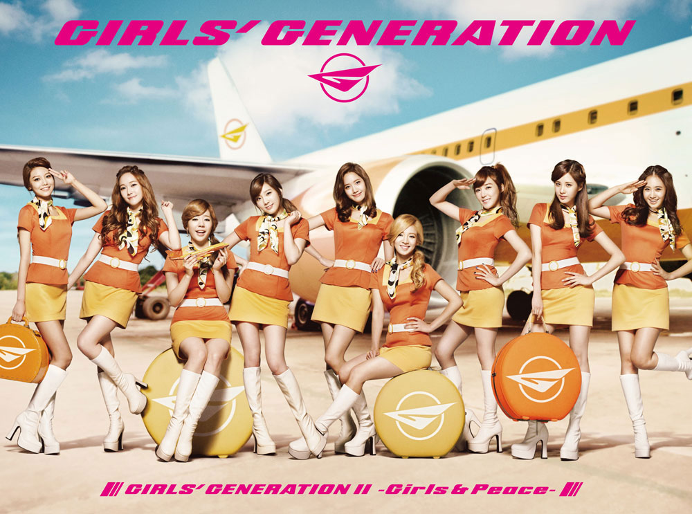 Girls Generation Girls Peace Japanese album