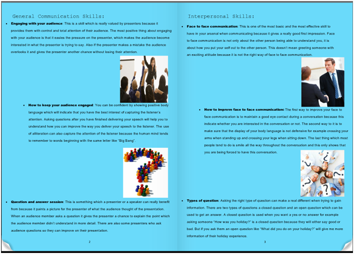 d1 evaluate interpersonal and written communication D1 evaluate interpersonal and written communications techniques by the end of this unit you will:-  assignment 7 - communication skills - technical document.