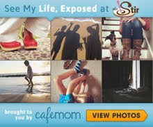 I am also featured as a guest contributor at Life, Exposed on Cafe Mom's The Stir