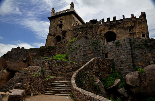 Golkonda Fort in Andhra Pradesh