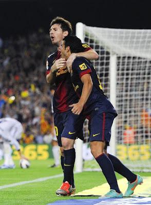 Hasil Pertandingan Barcelona vs Real Madrid 2-2, EL Clasico 8 Oktober 2012