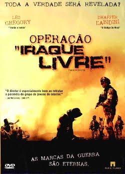Filme Poster Operação Iraque Livre DVDRip XviD & RMVB Dublado