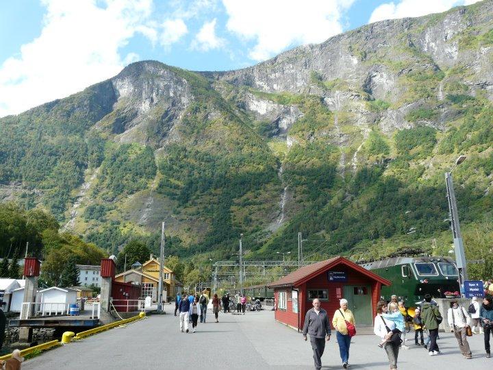1001 lugares blog de viajes noruega el tren de flam for Oficina de turismo de noruega