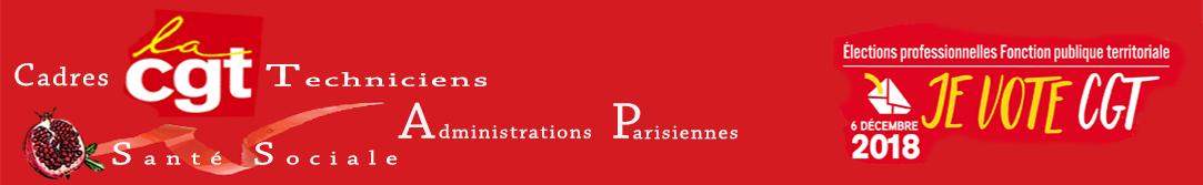 syndicat CGT Cadres et Techniciens santé sociales Ville de Paris