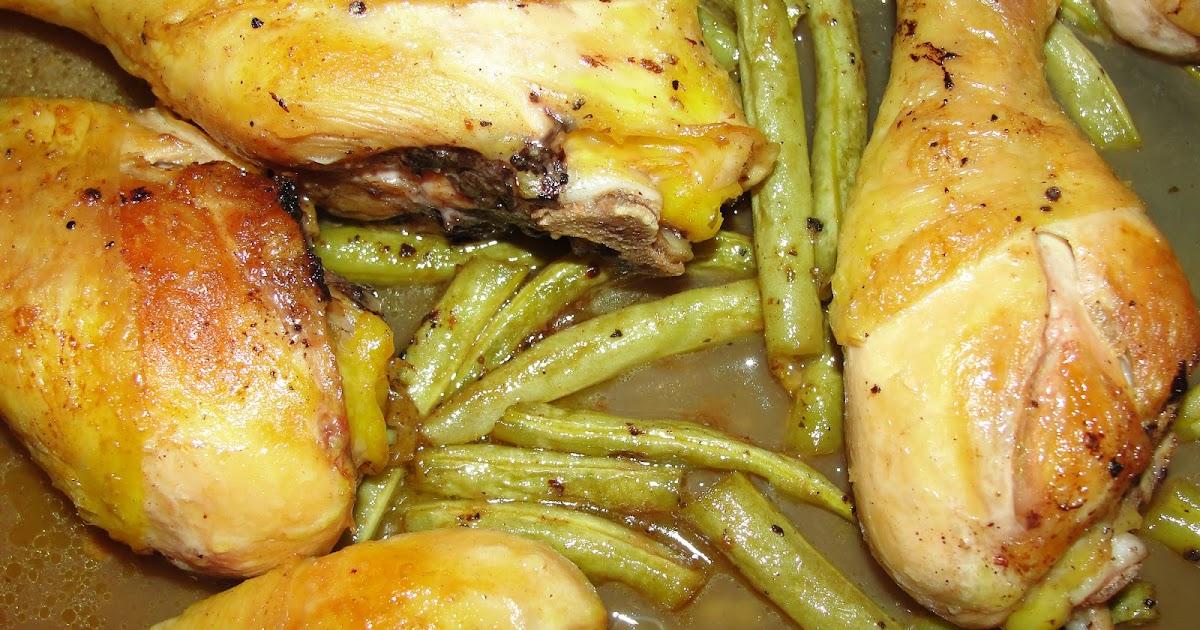 Disfruta cocinar pierna de pollo con ejote for Cocinar 2 muslos de pollo
