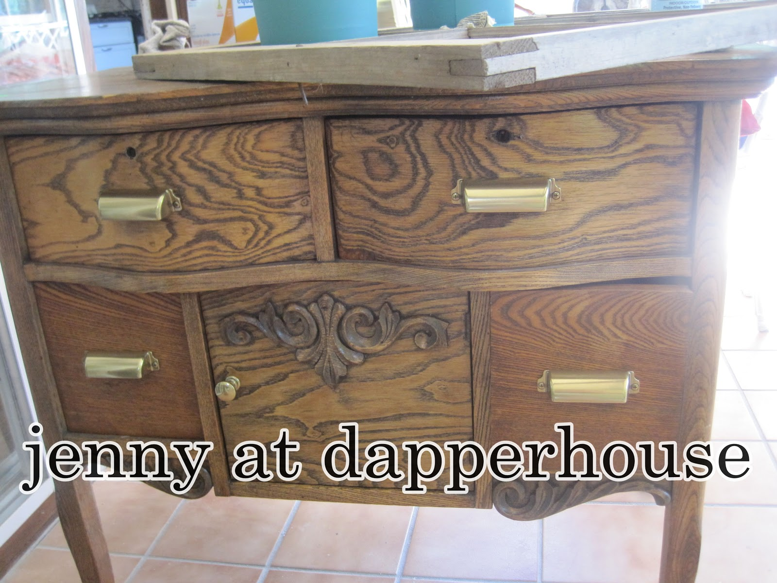 Dapperhouse Annie Sloan Chalk Paint Furniture Re Do Before