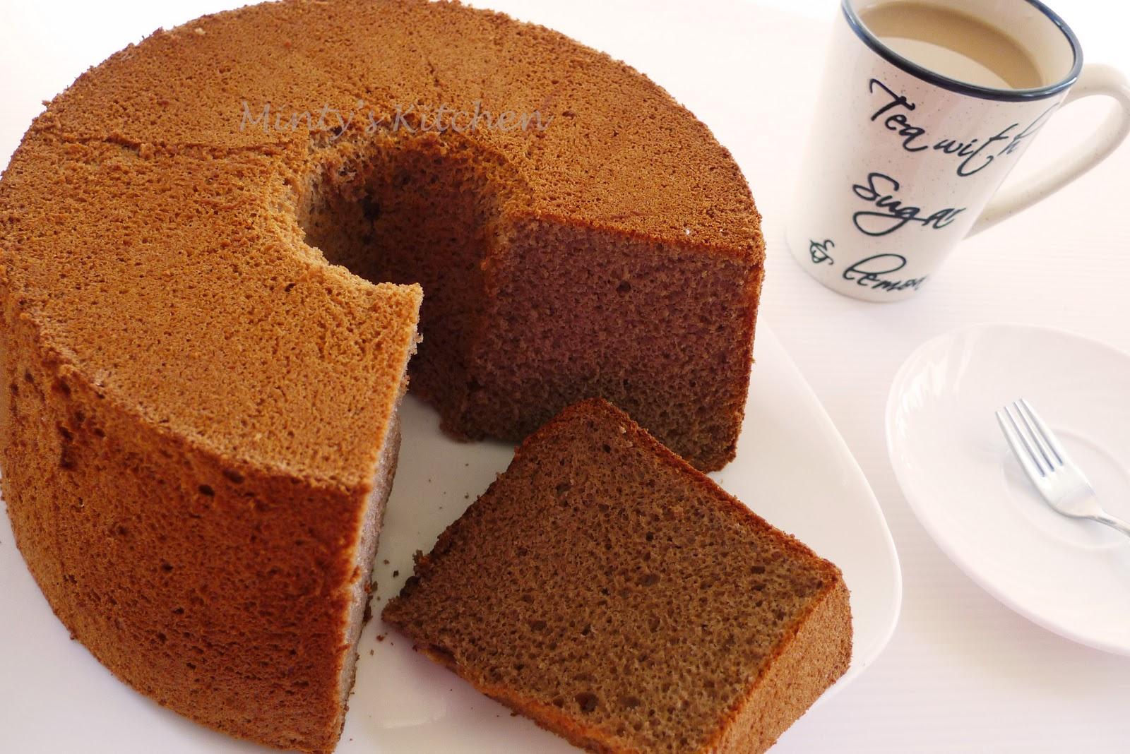 Minty S Kitchen Mocha Chiffon Cake