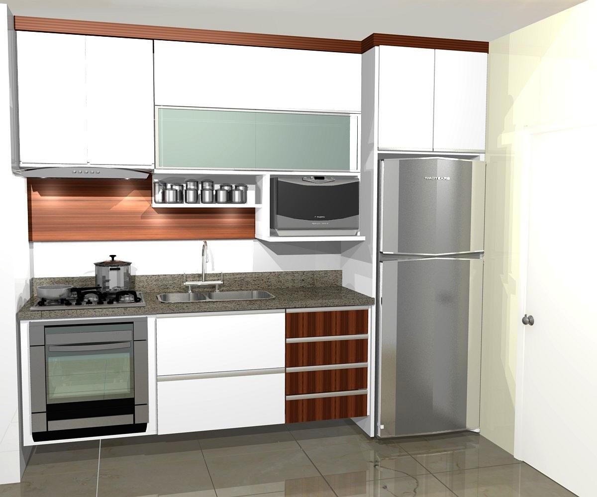 Cozinha Pequena E Pratica Sture Moveis Planejados