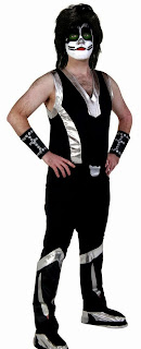 KISS Catman Deluxe Adult Costume
