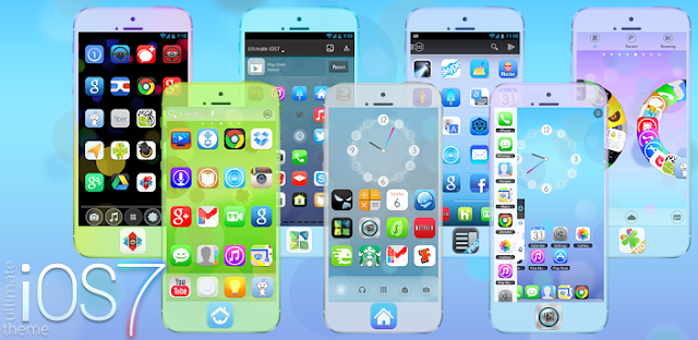 Ultimate iOS7 Launcher Theme v3.3 Apk full download