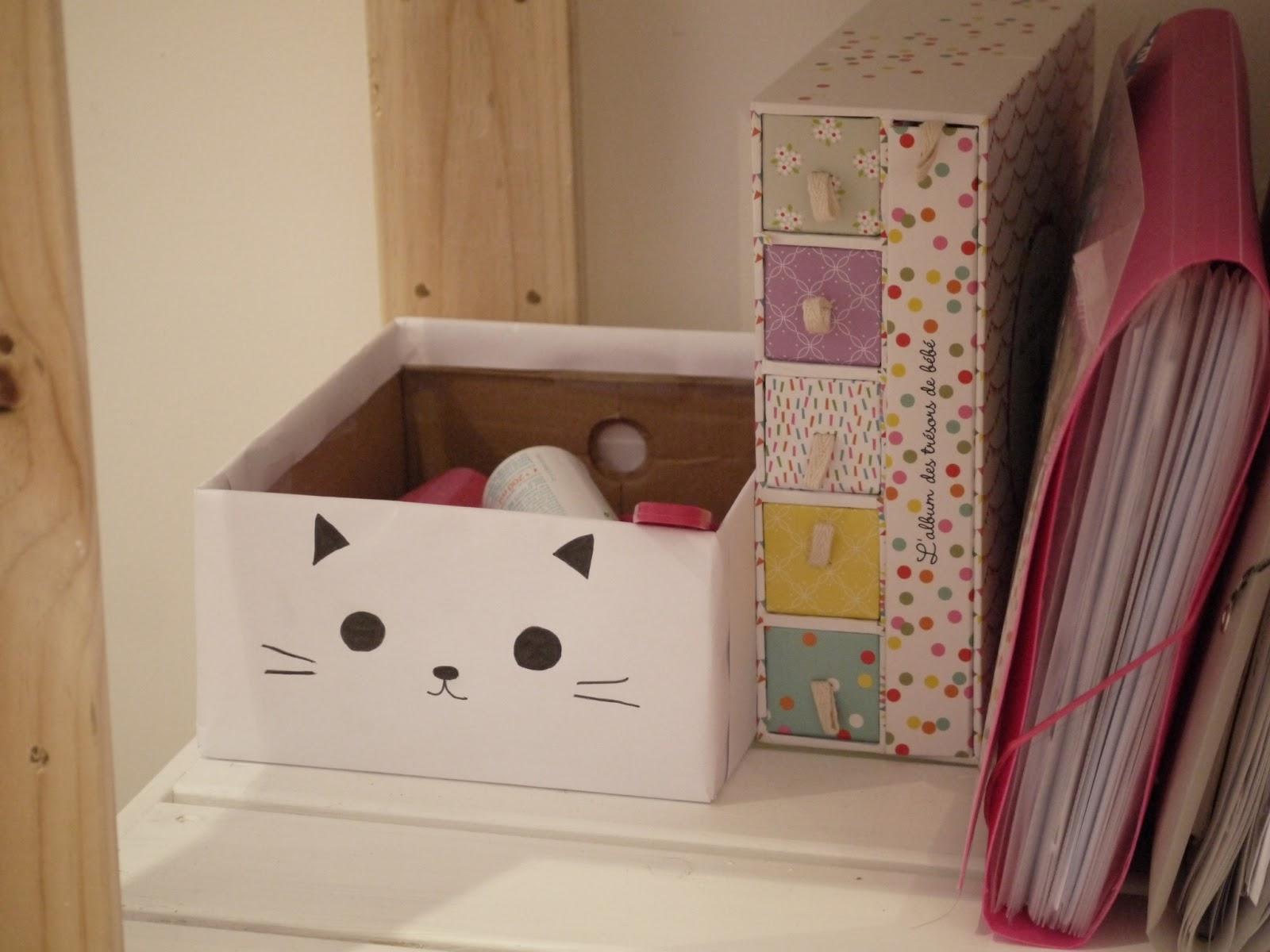 A tire cocotte diy d corer une bo te chaussures en - Decorer boite carton pour anniversaire ...