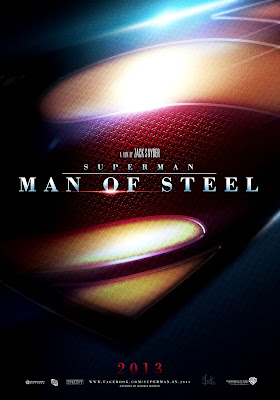 Superman Man of Steel 2013 Movie Poster