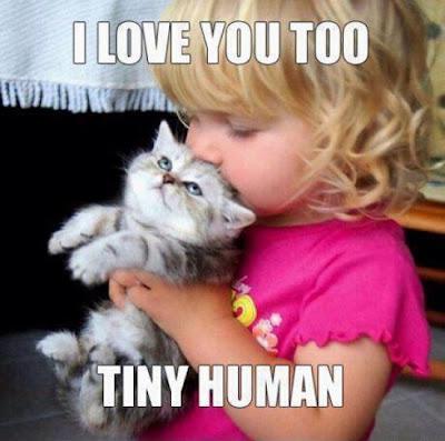 Ich hab dich auch lieb kleiner Mensch