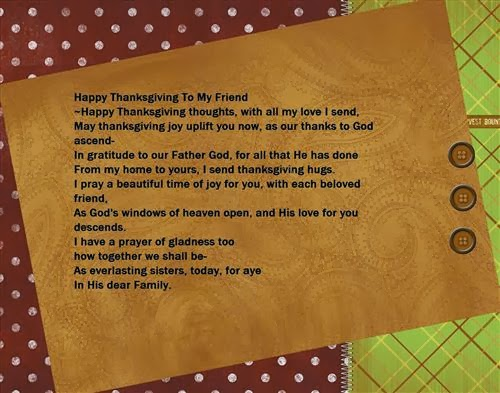 Free Funny Thanksgiving Poems For Friends