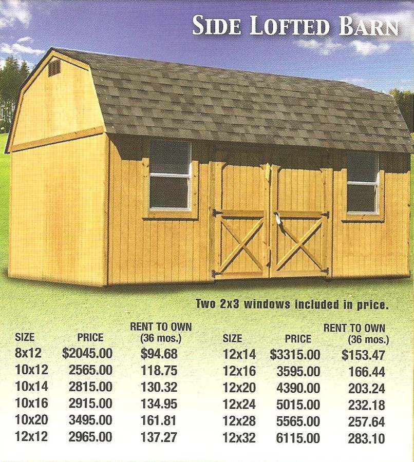 Derksen Portable Building Prices