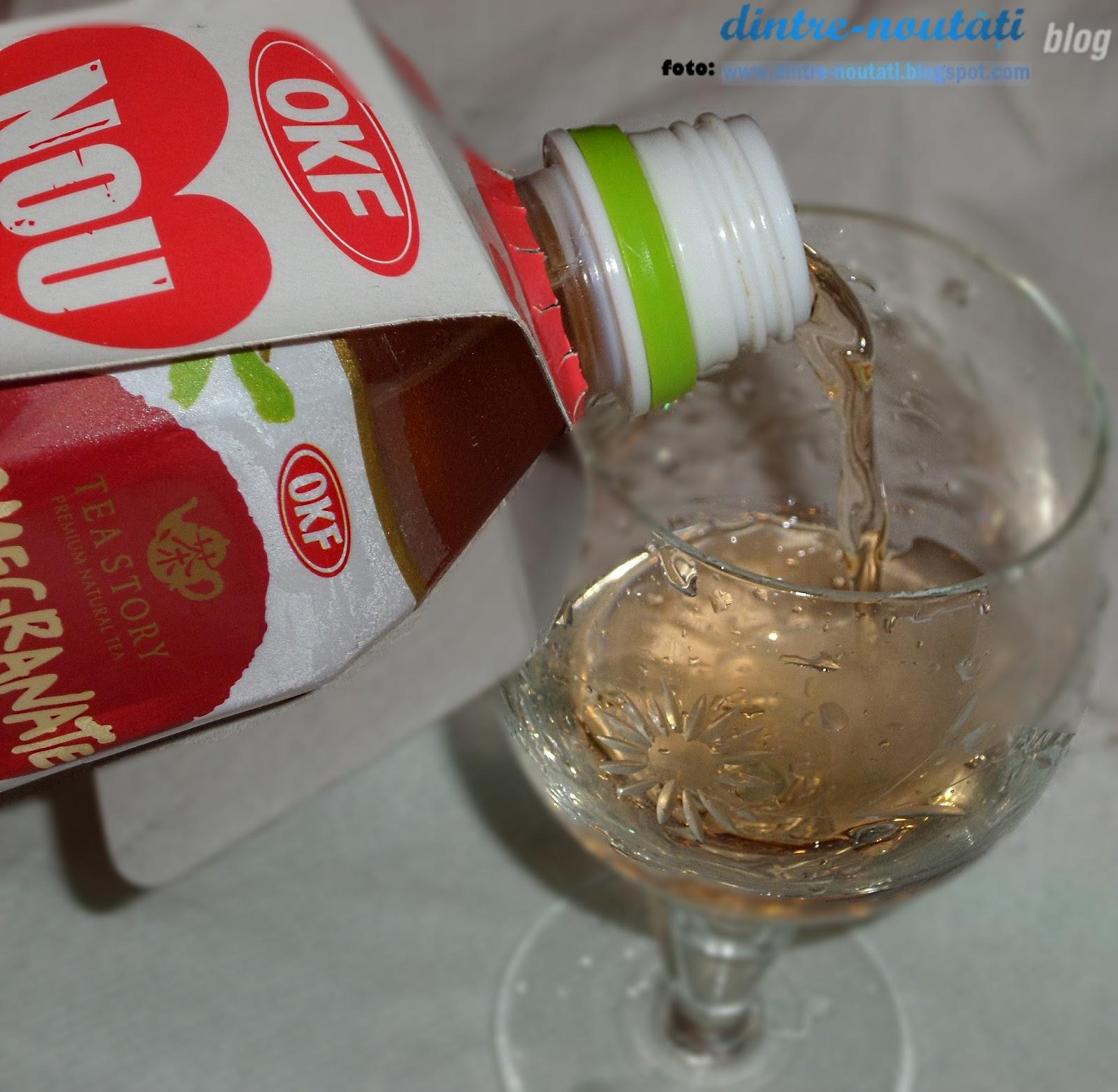 Ceai de rodie fără coloranți artificiali, conservanți și arome artificiale