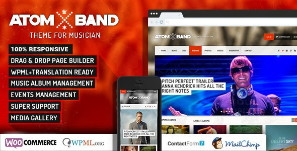 Premium Music band dj template