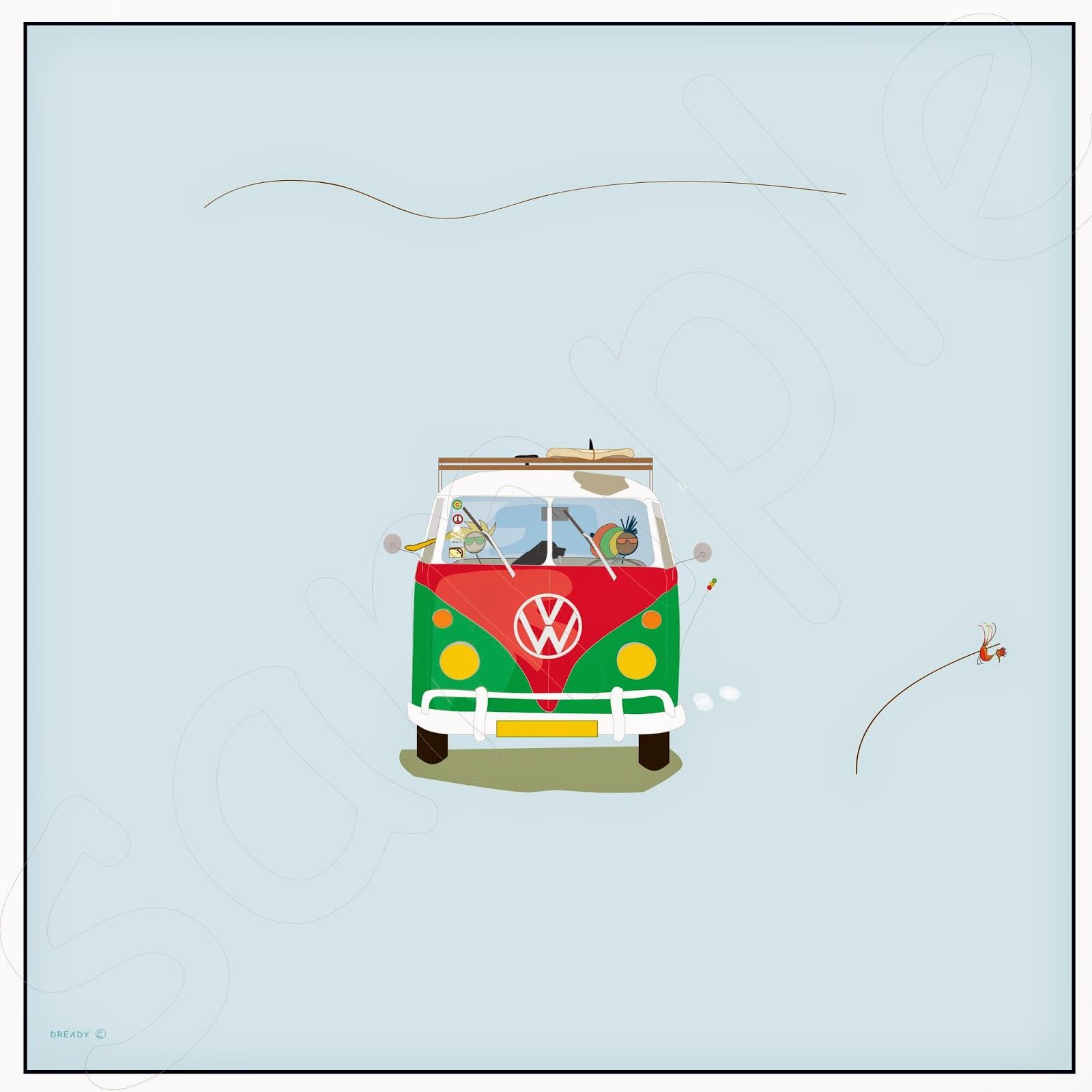 Dready, Dready Art and Everything Dready dready+1963+volkswagen+kombi+bus