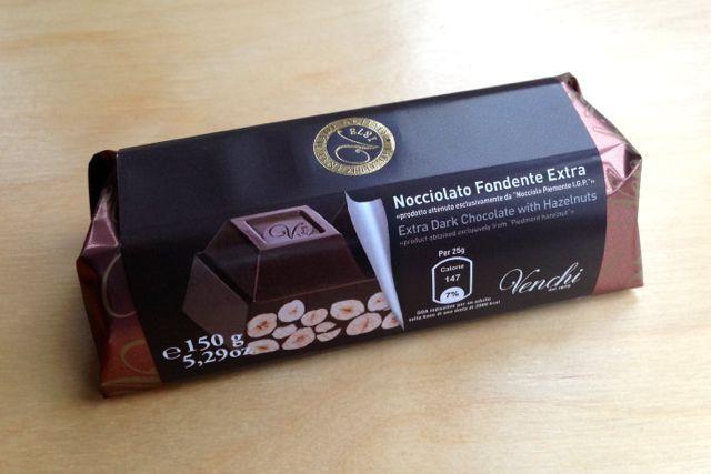 Venchi Extra Dark Piedmont Hazelnut Chocolate