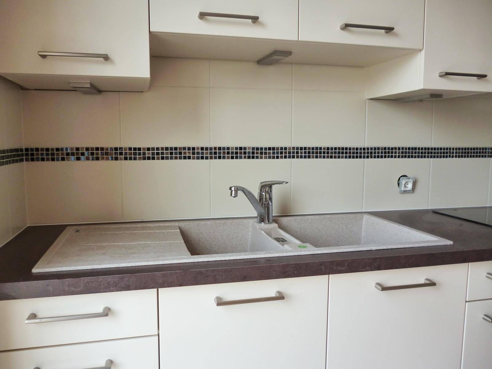 credence 25x35 beige frise mosa que julienbugnetcarrelage. Black Bedroom Furniture Sets. Home Design Ideas