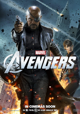 The Avengers International Character Movie Posters - Samuel L. Jackson as Nick Fury & Cobie Smulders as Maria Hill
