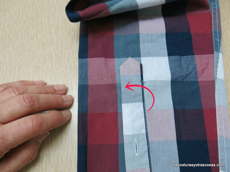 tutorial arreglar de largo una manga camisera