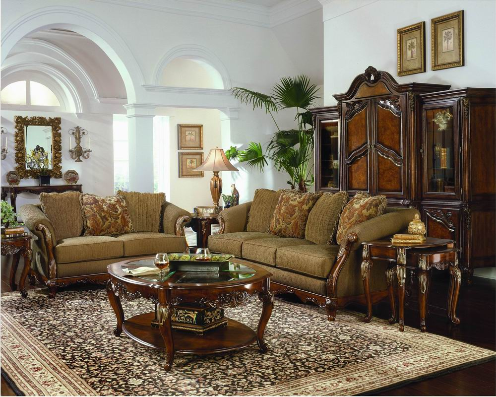 Traditional Living Room Interior Design Ideas