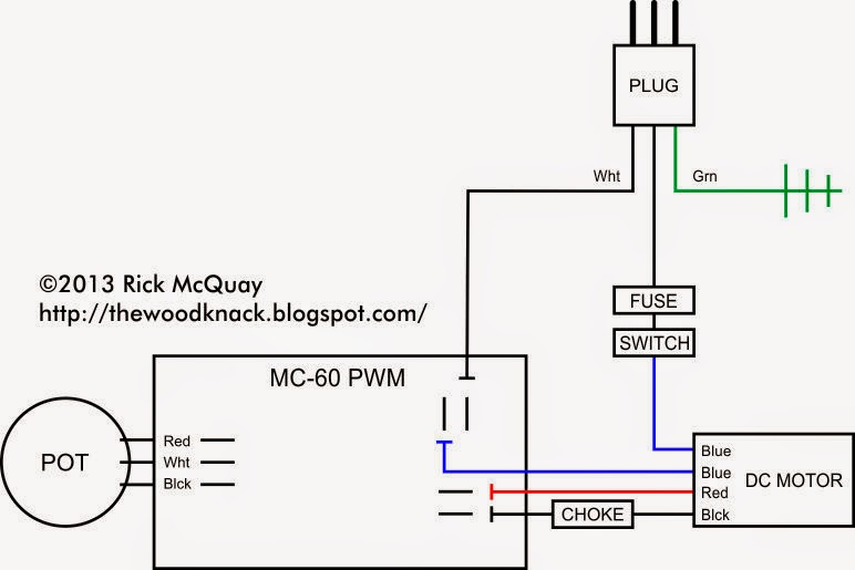 Variable Speed DC Motor Wiring Diagram on garage panel wiring diagram