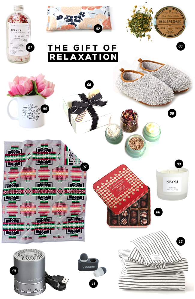 Gift Guide: Relaxation, via Bubby & Bean