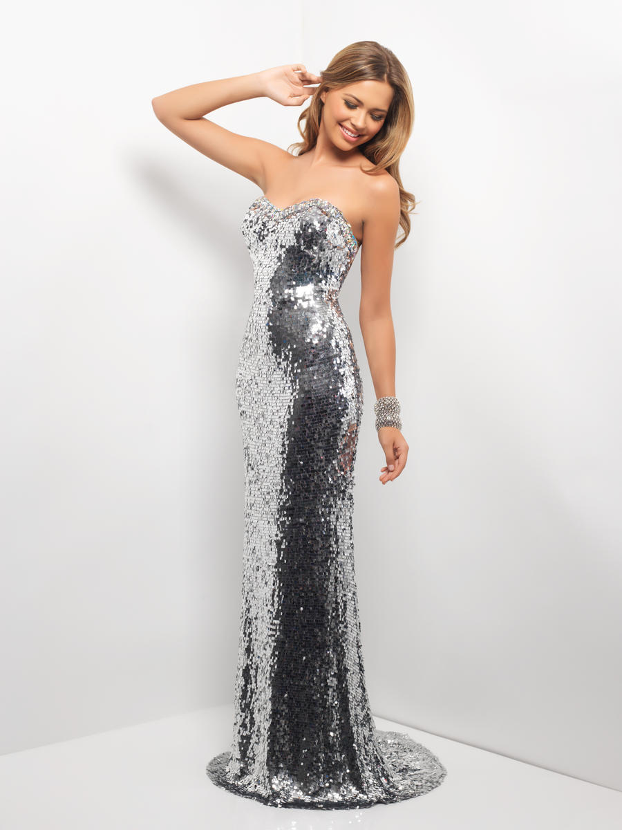 Stunning Silver Sequin Prom Dresses Gowns 2015 | my fashion apparel