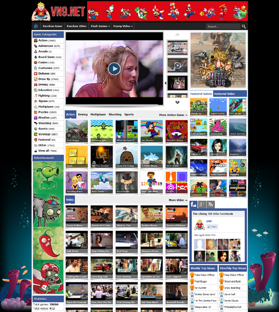 Vina Entertainment Blogger Template