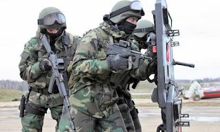 Έτσι εκπαιδεύονται οι Ρωσικές ειδικές δυνάμεις το καμάρι του Ρώσου Προέδρου Πούτιν [BINTEO]