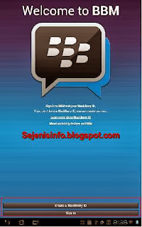 bbm untuk android sign in