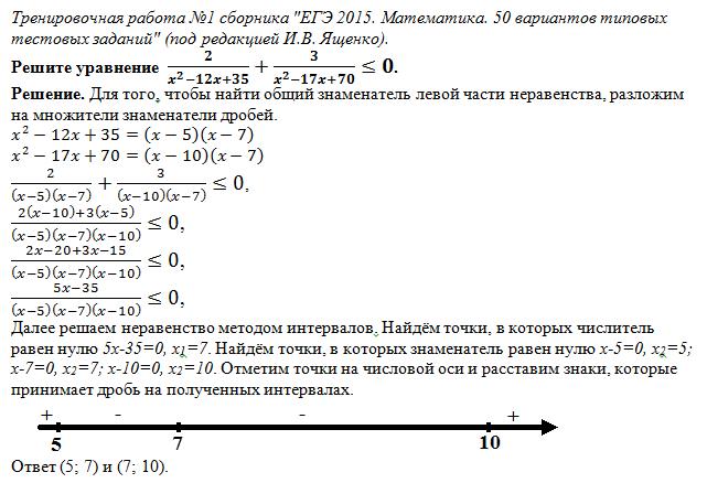тренировочные работы егэ по математике 2013: